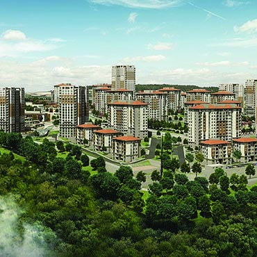 ANKARA, KOCAELİ, NEVŞEHİR, NİĞDE PROVİNCES 4460 HOUSES, 167 COMMERCİAL AND SOCİAL FACİLİTİES CONSTRUCTİON